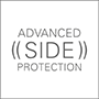 icon advanced side protection black